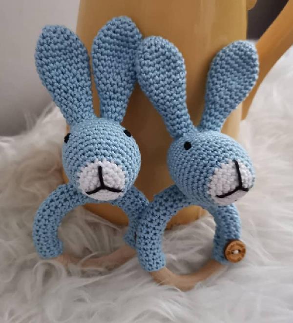 Rammelaar/bijtring konijn