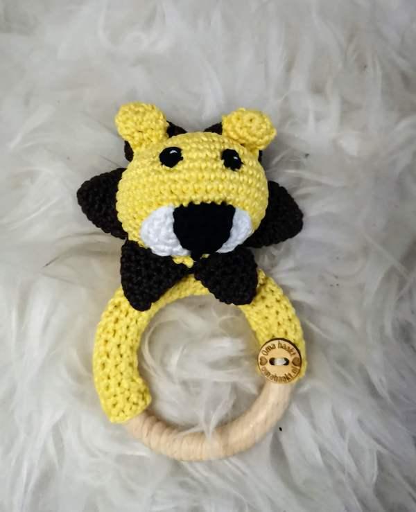 Rammelaar/bijtring leeuw